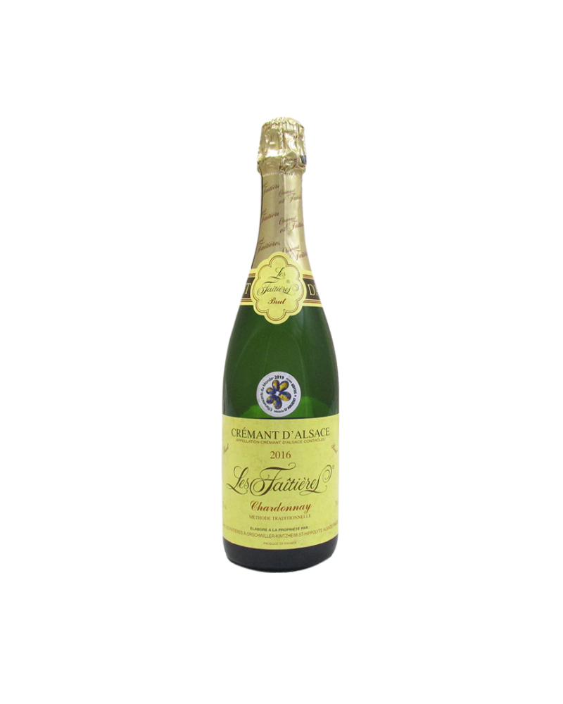 Crémant d'Alsace Brut 2016 Les Faîtières Chardonnay